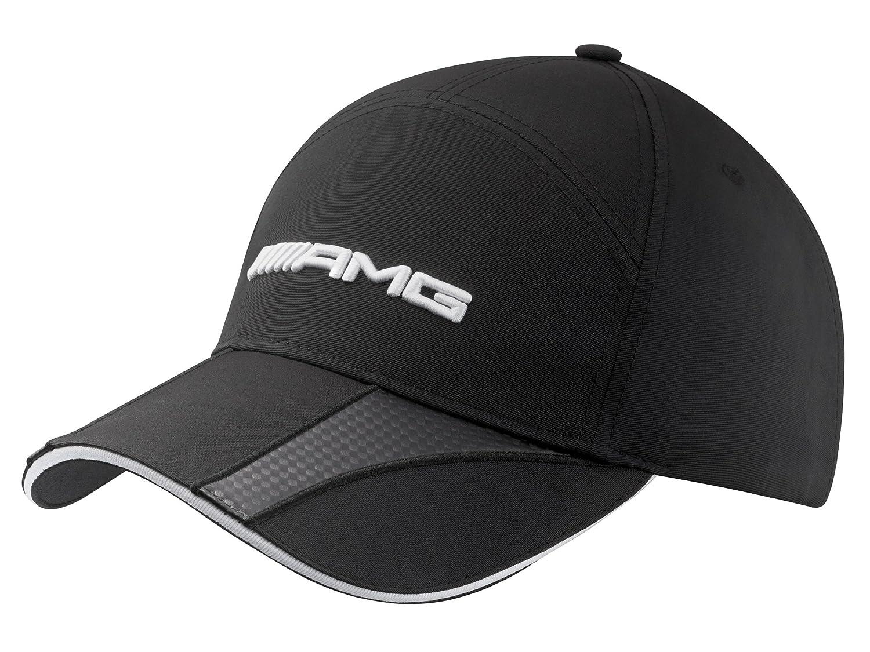 New Genuine Mercedes-Benz AMG Carbon Black Baseball Cap B66952706 OEM