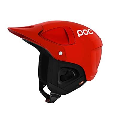POC Skihelm Synapsis 2.0 - Casco de esquí, color Rojo, talla S (53