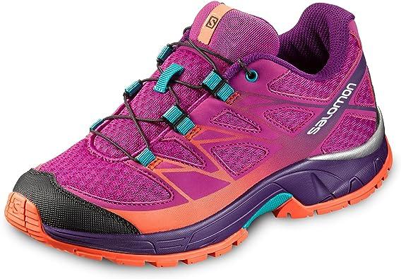 Salomon L39056100, Zapatillas de Trail Running para Niños, Morado ...