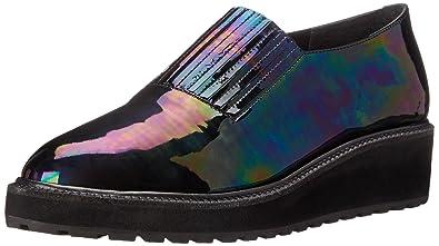 82890399ee LOEFFLER RANDALL Women's Ria Iridescent Leather Slip-On Loafer