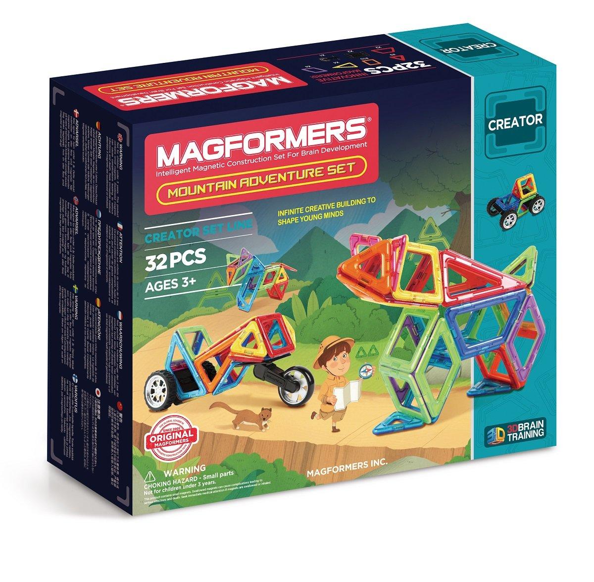 274 – 81 Magformers Mountain Adventure Set