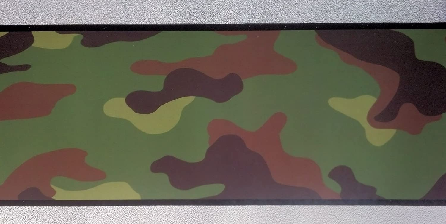 Camouflage Camo Wallpaper Wall Border