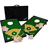 Wild Sports 2'x3' Wood Football Field Cornhole Set