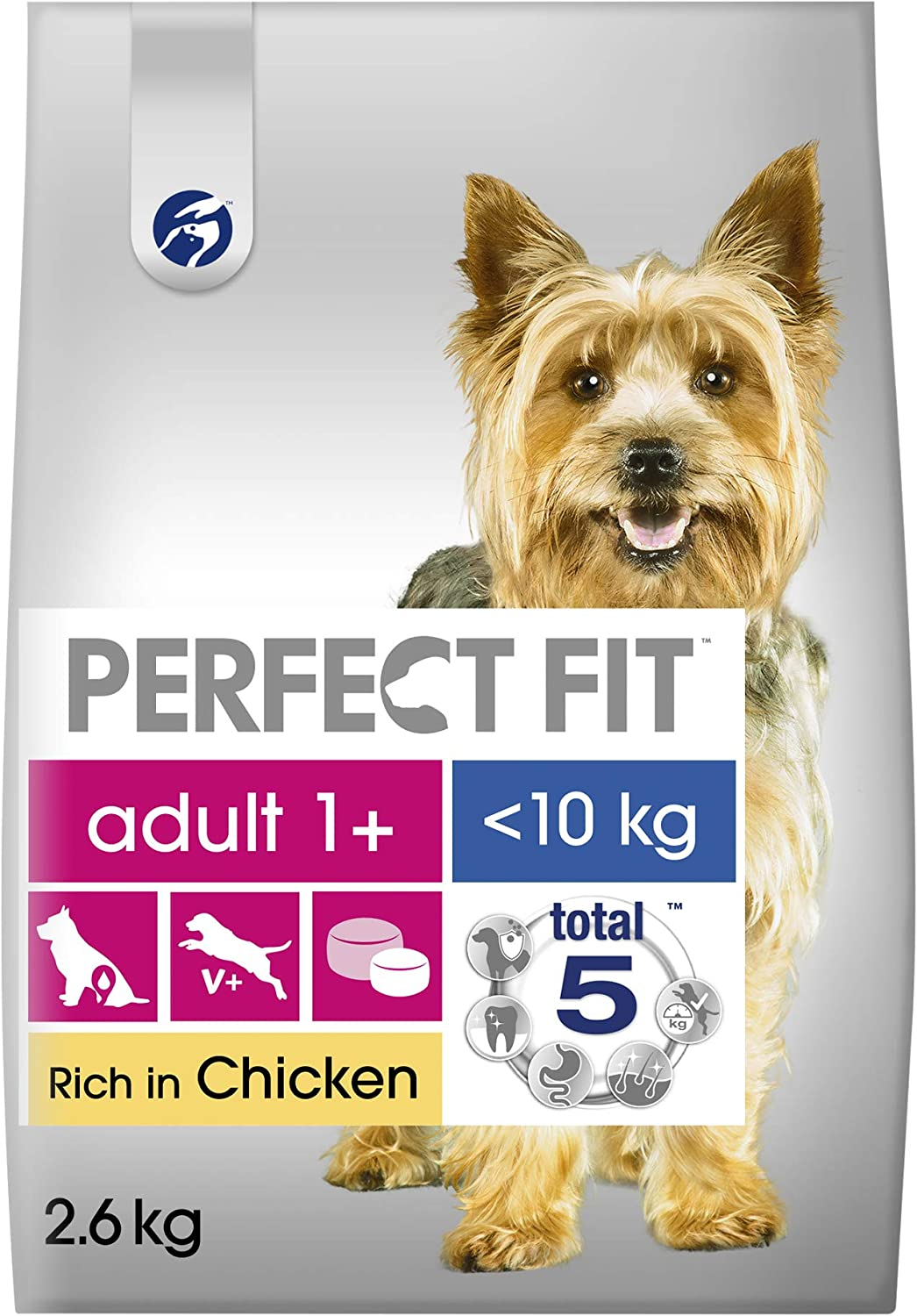Perfect Fit Dry Food Adult Small Dogs From 5 10 Kg With Chicken