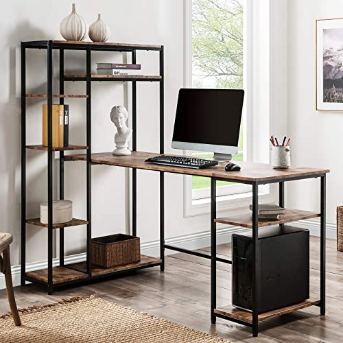 DEPOINTER Home Office Computer Desk 63″ x 35.4″