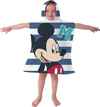 Poncho toalla con capucha de Disney, toalla de playa y toalla de baño. Un tamaño, ideal para las vacaciones de este verano Para niños o niñas.