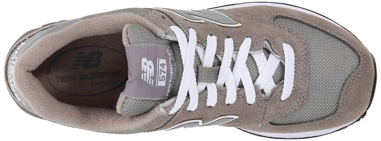 New Balance Women's W574 Classic Fashion Sneaker B000GTGZ1I 6.5 B(M) US|Grey
