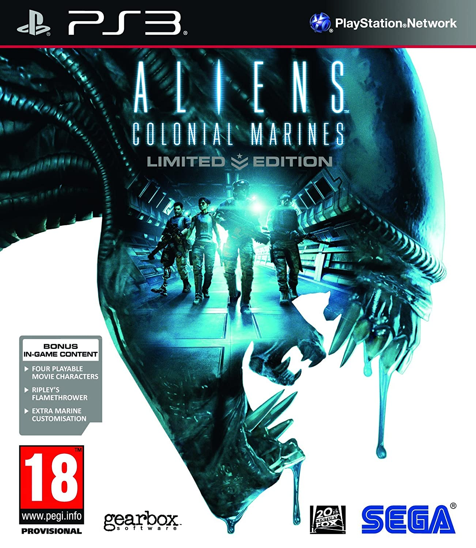 Kết quả hình ảnh cho Aliens: Colonial Marines cover ps3