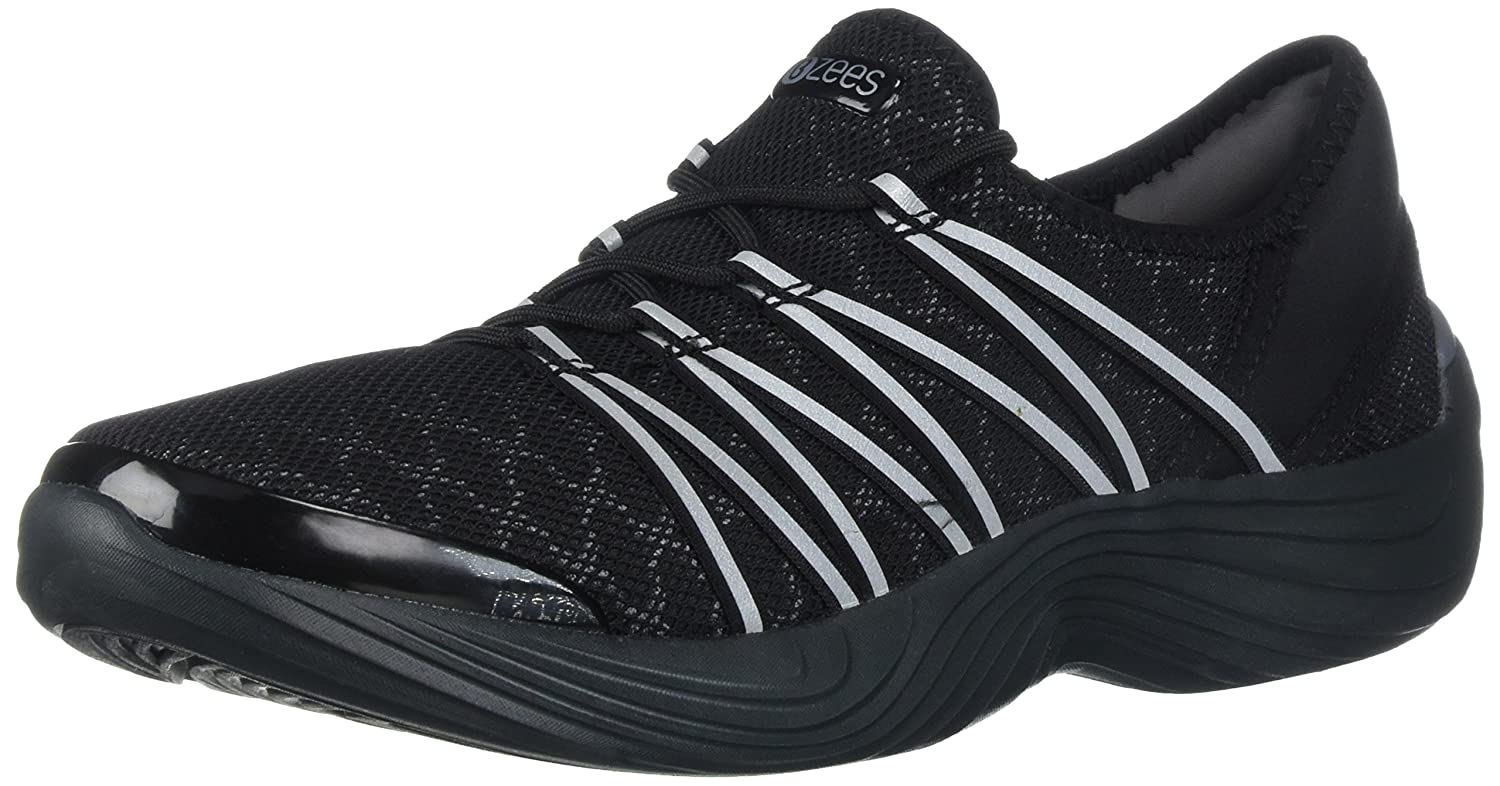 BZees Women's Tender Sneaker B06Y21DQGD 5 B(M) US|Black
