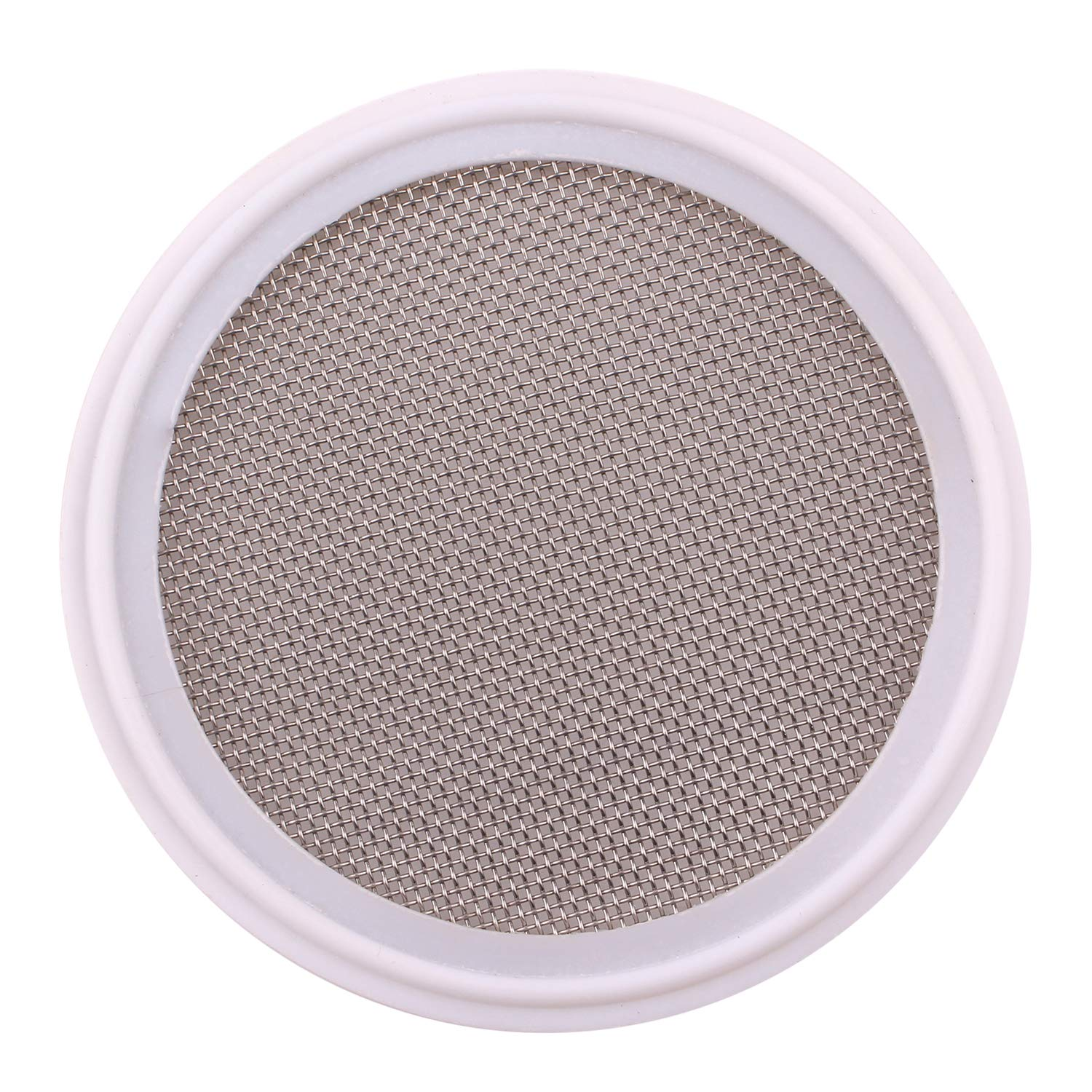 DERNORD 3'' PTFE (Teflon) Sanitary Gasket w/Stainless Screen - Tri Clamp Clover (20 Mesh) by DERNORD