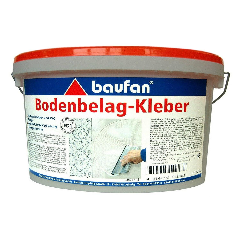 Baufan Bodenbelag Kleber 1 Kilogramm Amazon De Baumarkt