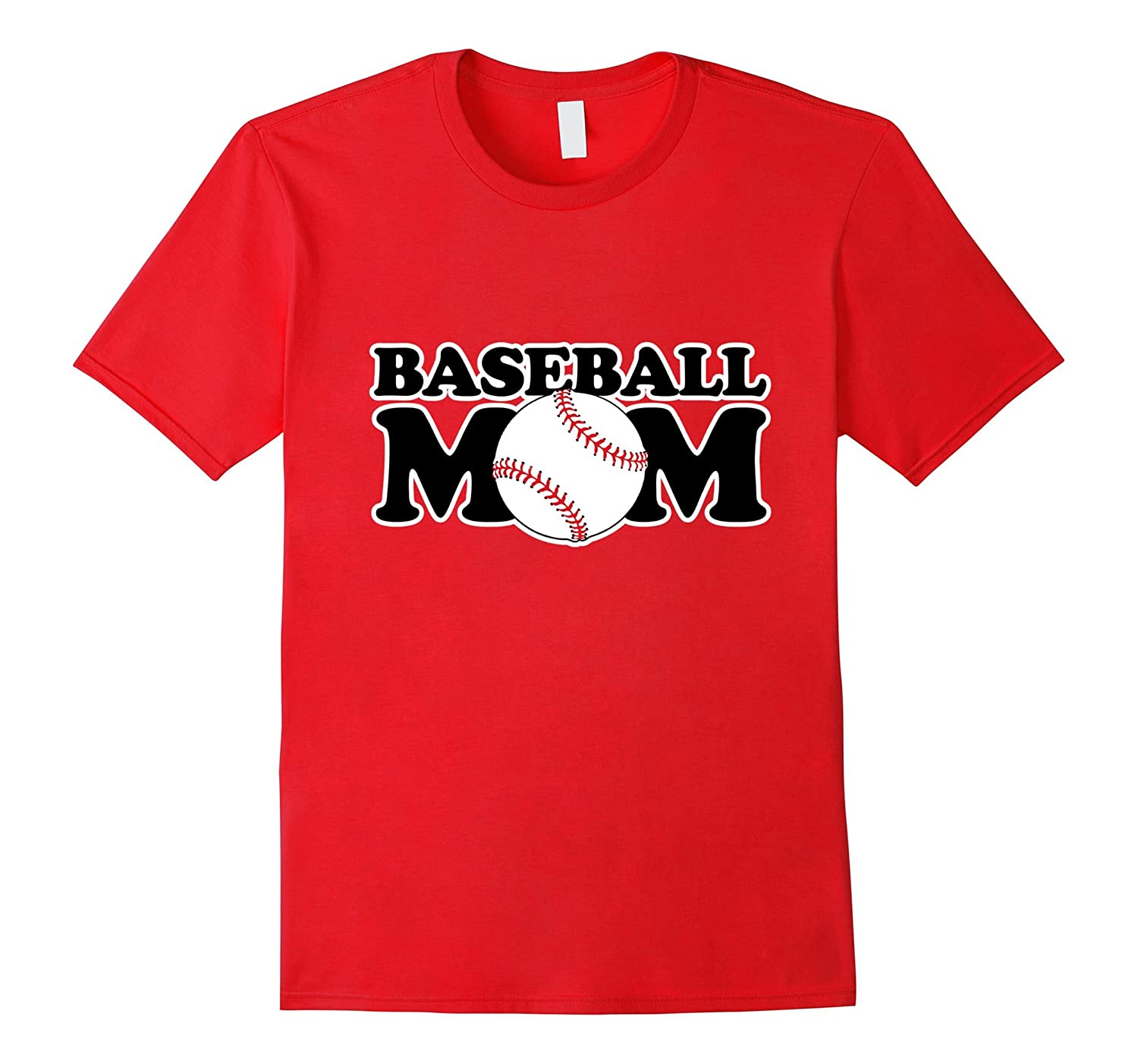 Baseball mom shirt for Moms who love baseball t-shirt-TH