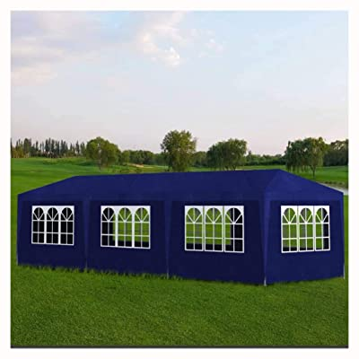 HomyDelight Canopy, Party Tent 10'x30' Blue: Toys & Games