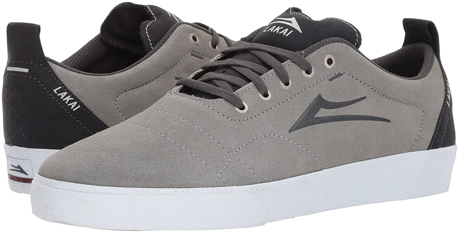 Lakai Limited Footwear Mens US|Light Bristol B073SPPJ6B 7.5 M US|Light Mens Grey/Charcoal Suede d43c72