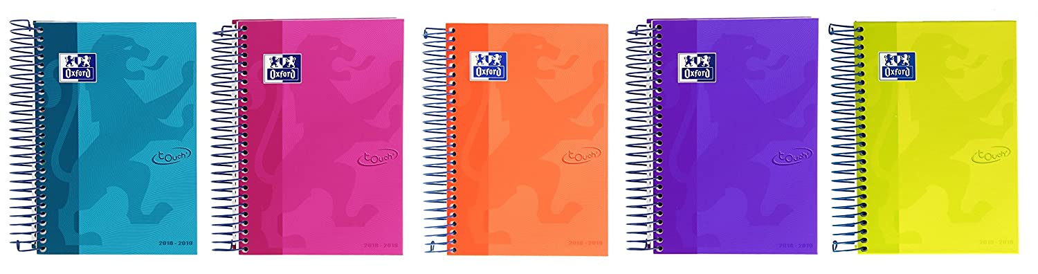 Amazon.com : Oxford Touch - Homework Diary, Week View with ...