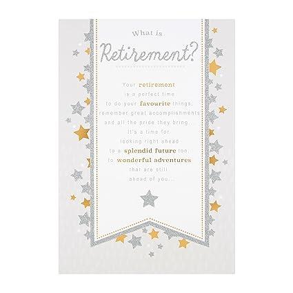 Hallmark 25490668 - Tarjeta de felicitación de jubilación ...