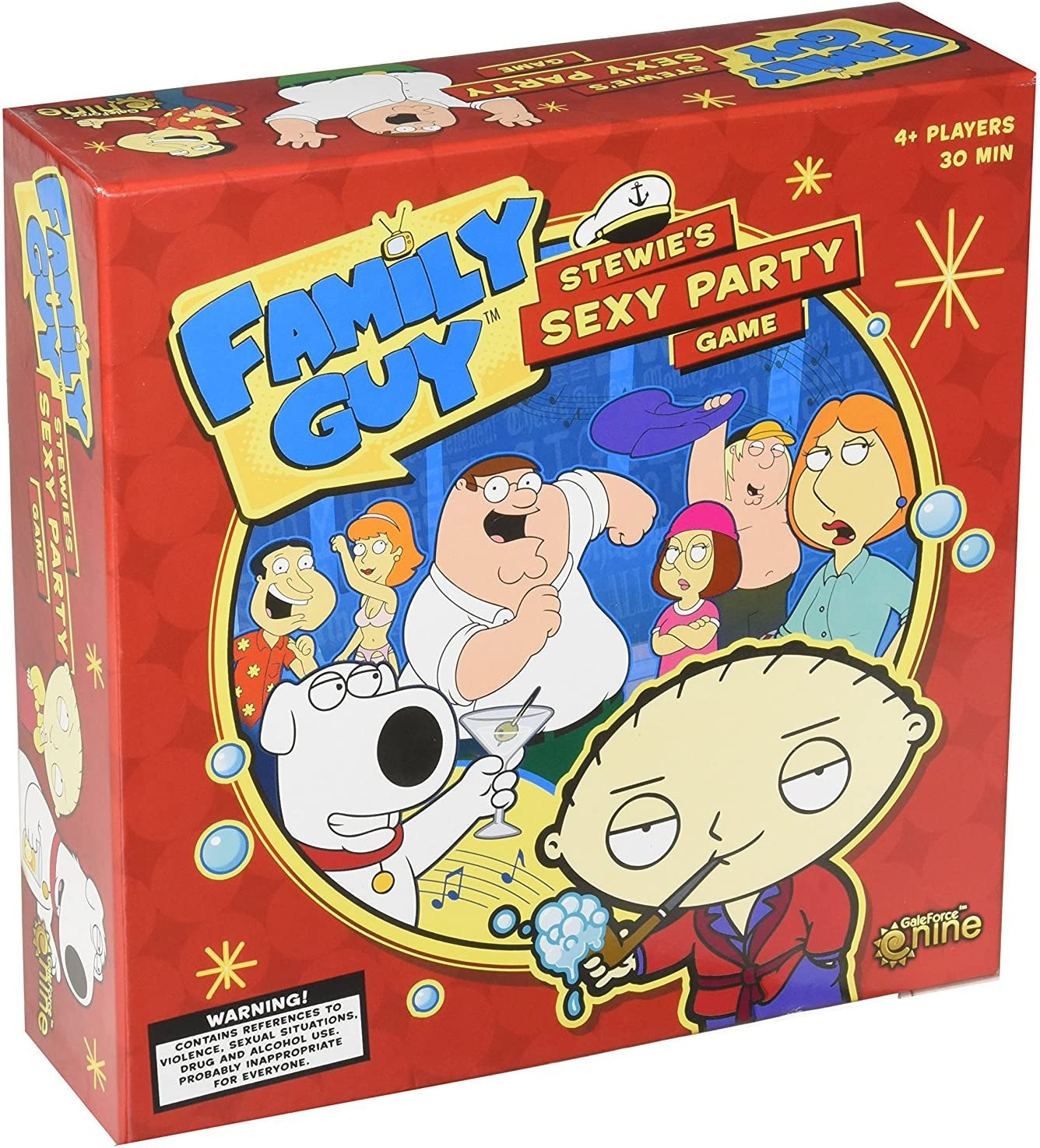 Gale Force Nine GF9FG001 Family Guy: Stewies Sexy Party Game - Juego de Estrategia [Importado de Alemania]: Amazon.es: Juguetes y juegos