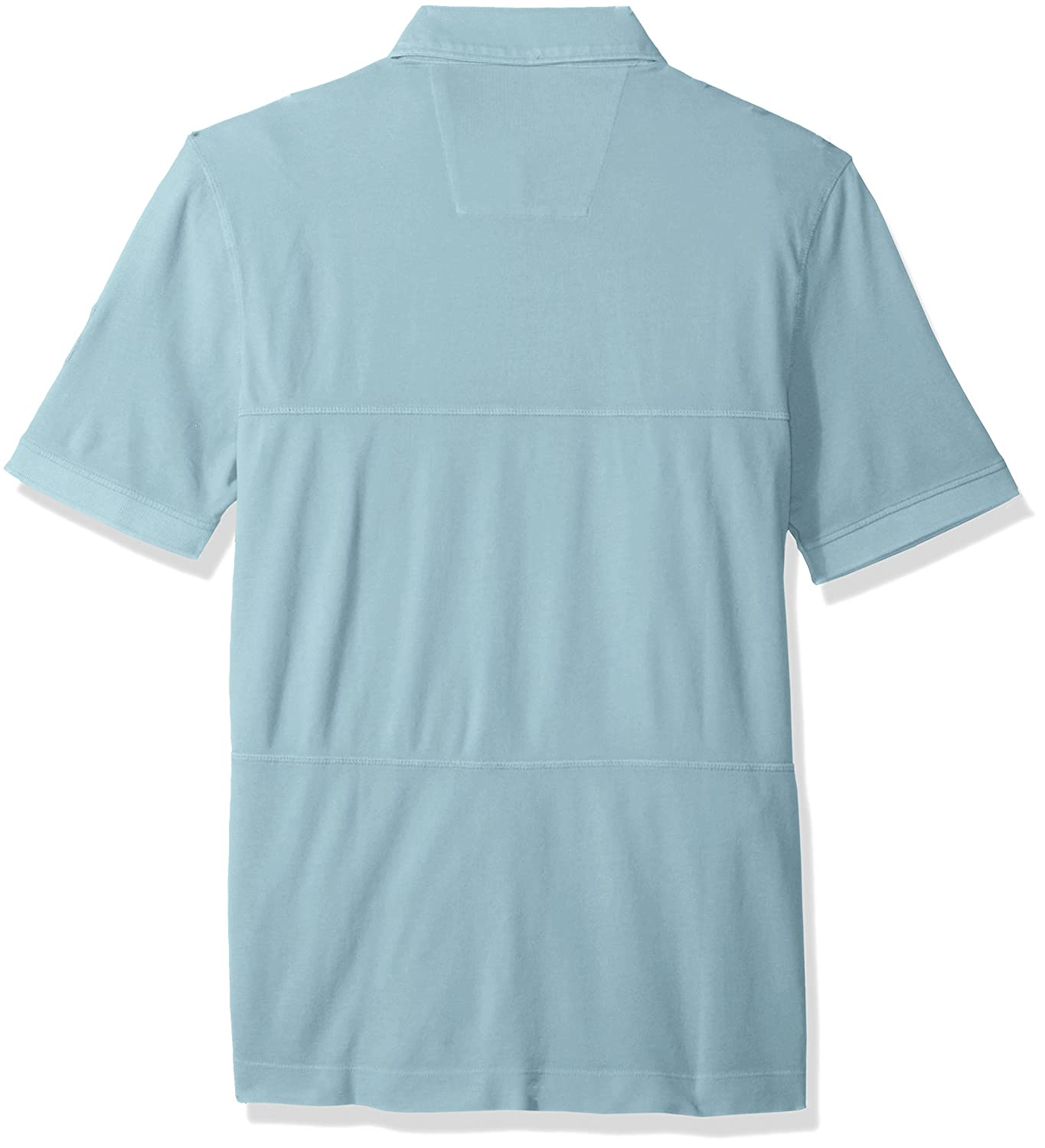Nautica Classic Fit Short Sleeve Polo Shirt with Stitching Detail