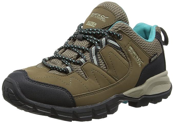 Regatta Lady Holcombe Low Walking Hiking Shoe Waterproof Breathable Comfortable
