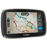 """TomTom Go 510 World - Navegador GPS (5"""" pantalla táctil, flash, batería, DC, USB, MicroSD/TransFlash), (versión europea España, Italia)"""