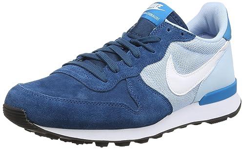 cheap for discount 59c5c 37f4f Nike Women Internationalist Running Shoe BLUE Force Ice Blue Black White 10  B
