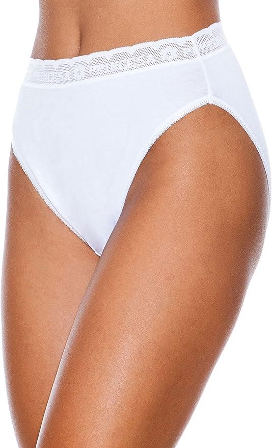 Princesa Braga Bikini De Algodon Lycra Pack3 Blanco M: Amazon.es ...