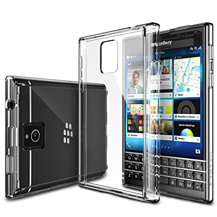 check out 67bc2 18b1a Blackberry Passport Case - Ringke FUSION Passport Case [FREE Screen  Protector/Drop Protection][CRYSTAL VIEW] Shock Absorption Bumper Premium  Hard Case ...