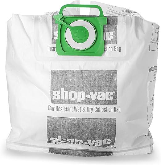 4 Stück Synthetisch Staubsaugerbeutel für Shop Vac 905.33