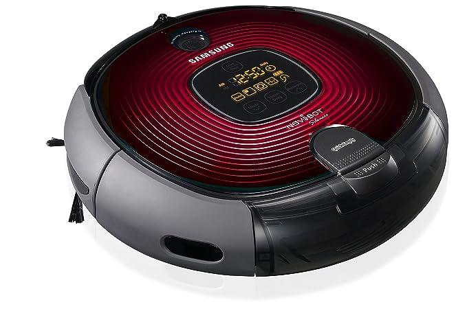 Samsung SR8894 - Robot aspirador, 60 dB, color rojo: Amazon.es: Hogar