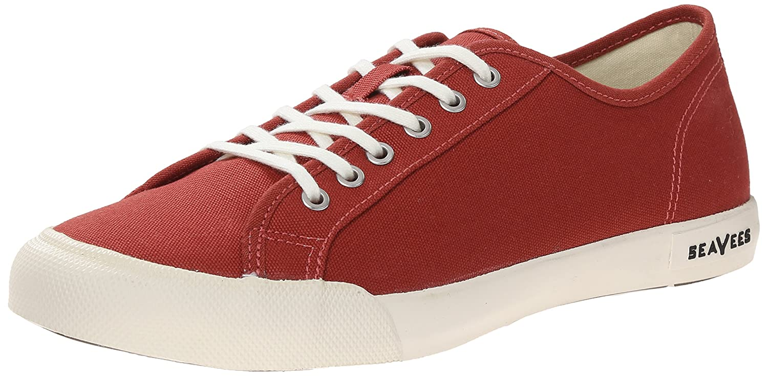 SeaVees Women's Monterey Lace up Sneaker B00M1NUNGA 7 M US|Red Ochre