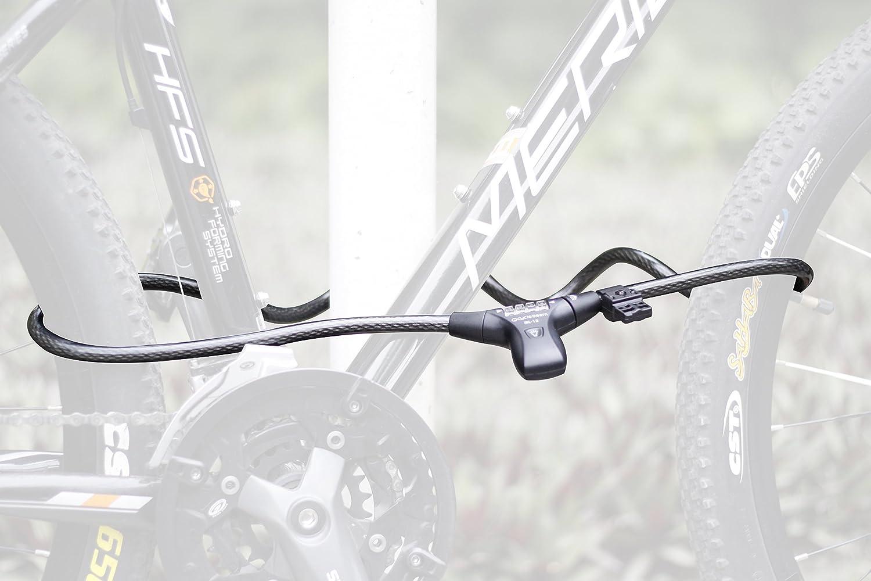 Best Bike Lock for Night Riders CycleBeam LED Illuminated Combination Bike Lock TM IBL-12