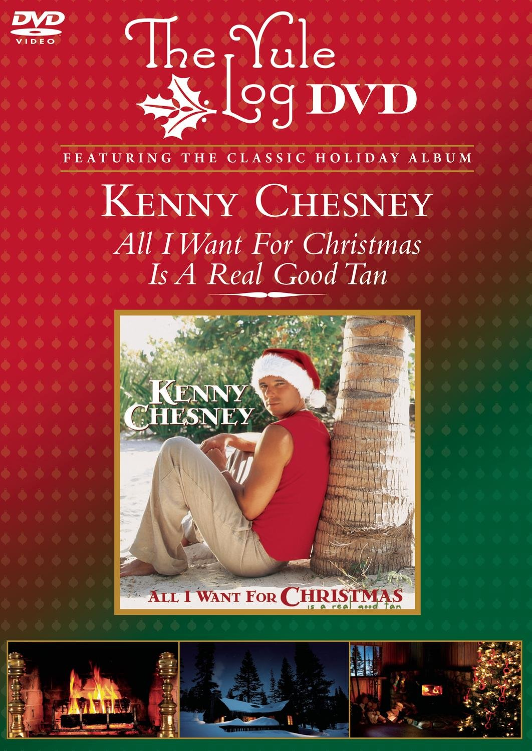 Amazon.com: All I Want for Christmas (The Yule Log DVD): Kenny ...