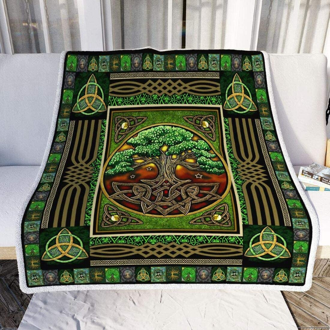 A240-2 Celtic Blessings Tree of Life Heather Lewis /& Irene Patchwork Quilting Fabric