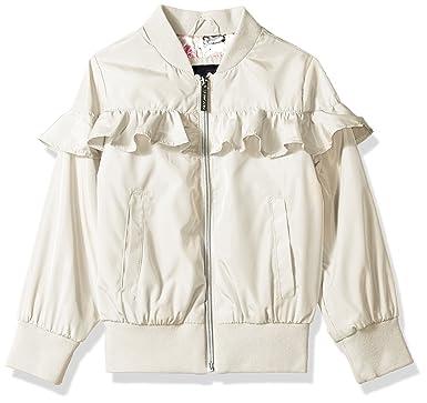 4624708d1 Amazon.com  Limited Too Girls  Nylon Bomber with Ruffle  Clothing