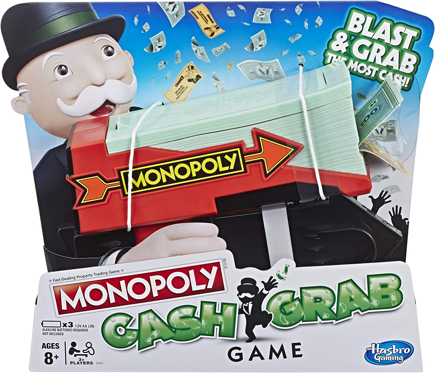 Hasbro Gaming MONOPOLY Cash Grab Game: Amazon.es: Juguetes y juegos