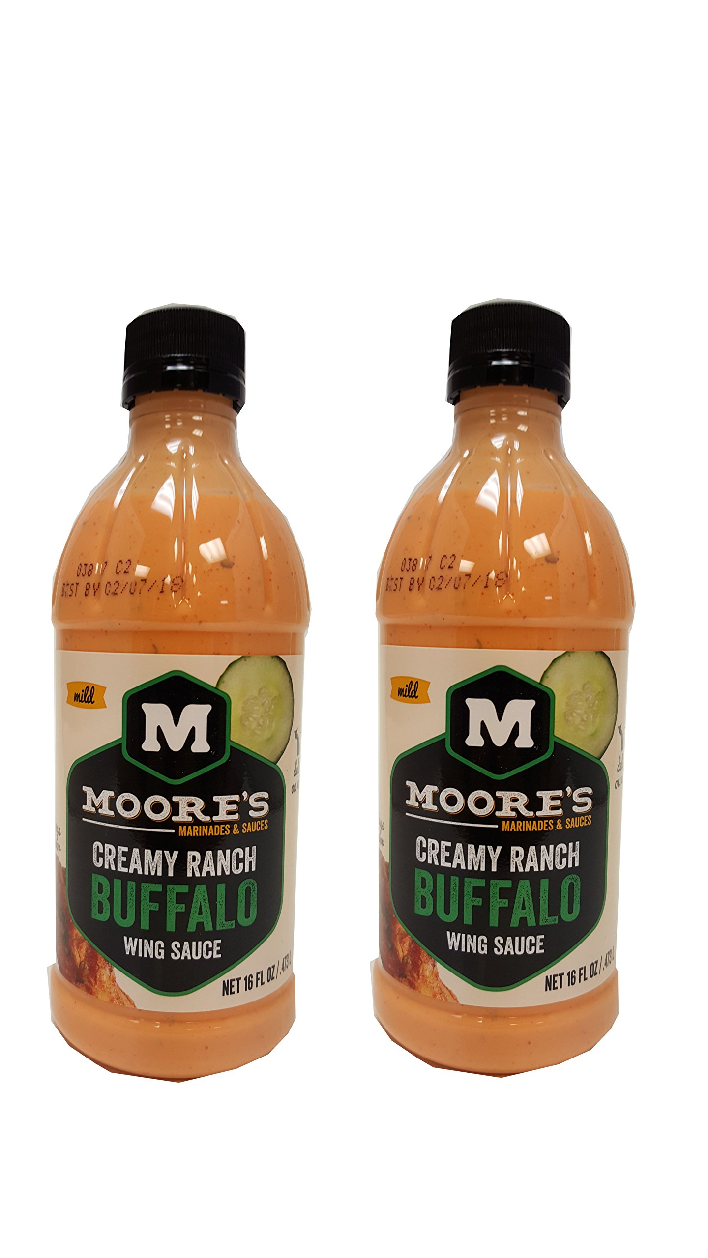 Moore Sauce Buffalo Wing Ranch, Pack of 2