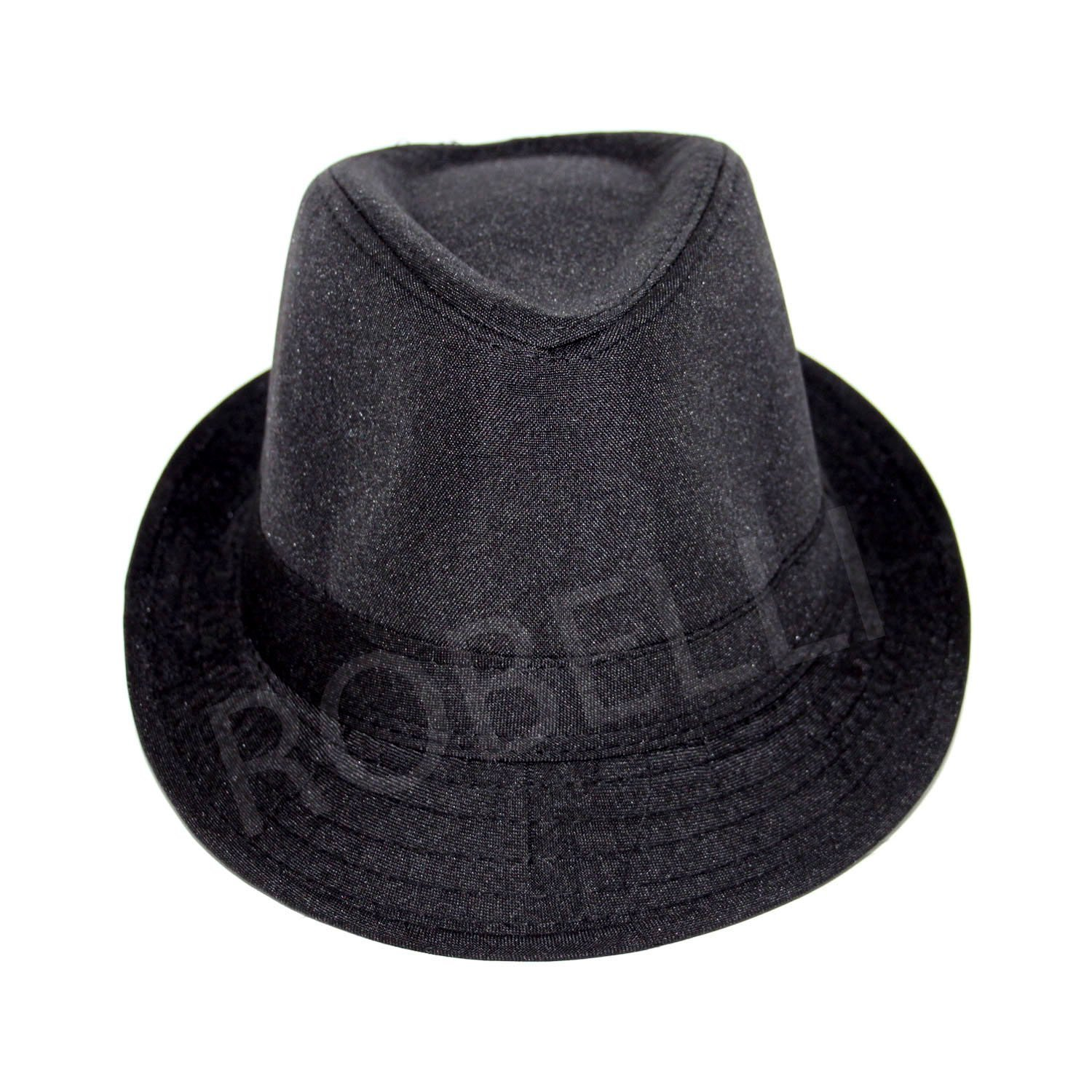 2 x Men s   Women s Fedora Hat - One Size Fits All (Black)  Amazon.co.uk   Clothing 2bb574bd0e8