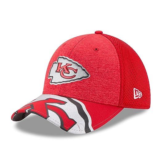 f2139e1d0 New Era 39Thirty Cap - NFL 2017 DRAFT Kansas City Chiefs S M  Amazon ...