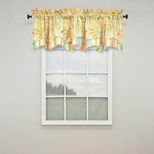 Waverly Cape Coral Window Valance, 78 x 18,