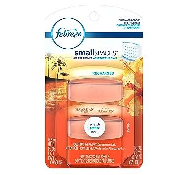 Amazon.com : Febreze Small Spaces Hawaiian Aloha Refills Air ...