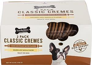 Three Dog Bakery Classic Cremes Baked Dog Treats