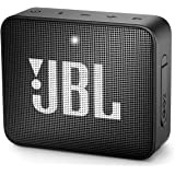 JBL Go 2 Portable Bluetooth Speaker with mic (Black)