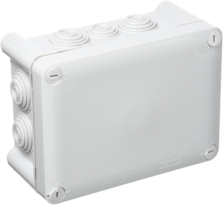 TOOGOO Boitier electronique en plastique en plastique ABS IP65 Boite de connexion electronique impermeable Boitier de logement Prise de courant IP65 IP65 120 x 120 x 90