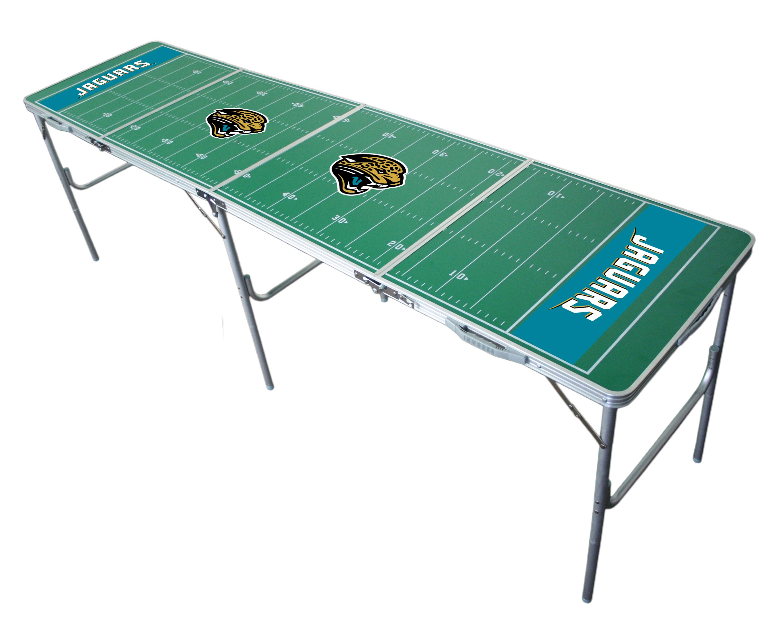 Jacksonville Jaguars 2x8 Tailgate Table by Wild Sports by Wild Sports