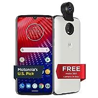 Motorola Moto Z4 128GB Smartphone w/Moto 360 camera