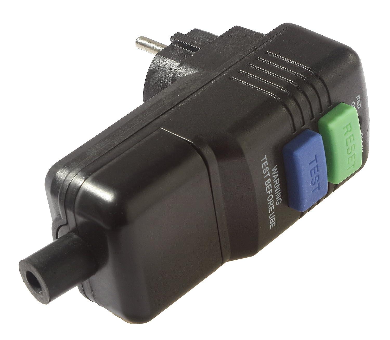 IP44 Schwabe 45209 fiche /à interrupteur diff/érentiel disjoncteur 30 mA as