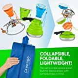 Collapsible Outdoors Backpacking Camping Cookware