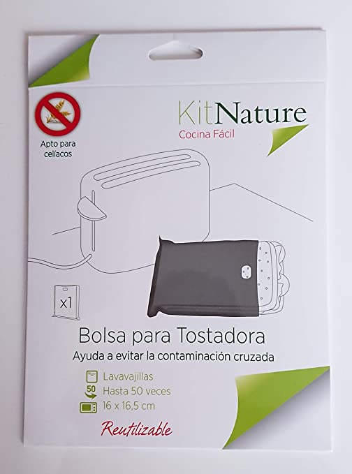 Kit Nature Bolsa Reutilizable para tostadora