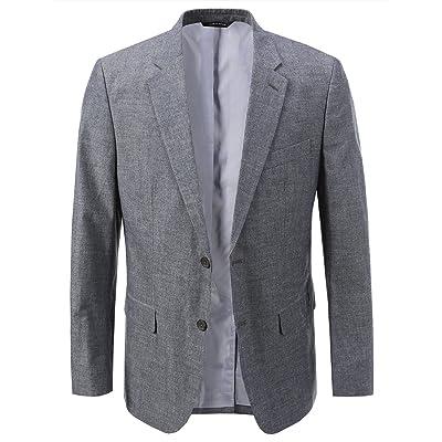 Banana Republic Men's Tailored Slim Jacket Denim 42R at Amazon Men's Clothing store