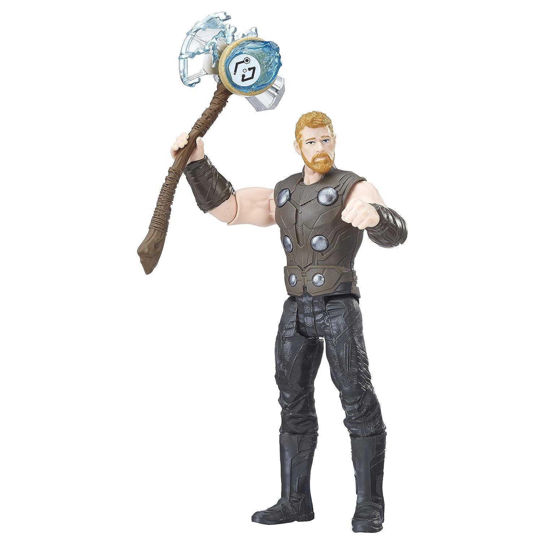 Marvel Figura Infinity War, Iron Man con Gema y Accesorio (Hasbro E1406EU4) E1406EL2
